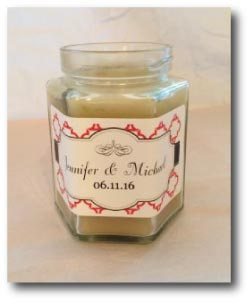 Make your own candle labels