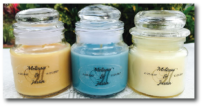 Printable Clear Candle Labels