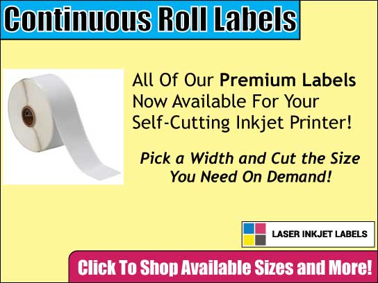 Continous Roll Labels for Sale
