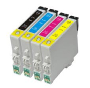 List of Pigment Based Inkjet Cartridges in black and colors