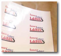 Super glossy inkjet sheets