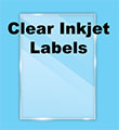 Clear Glossy Labels - Inkjet
