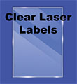 Clear Glossy Labels - Laser