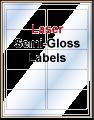 White Semi-Gloss Laser Only