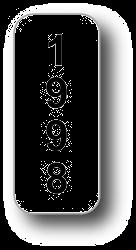 """.75"""" x 1.75"""" PREPRINTED TAMPER EVIDENT LABELS Full Size Image #1"""