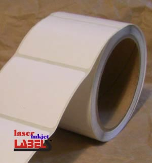 "2.5"" x 6"" INKJET ROLL LABELS Full Size Image #2"