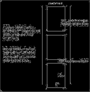 """1"""" x 2"""" INKJET ROLL LABELS WIDE LINER Full Size Image #1"""