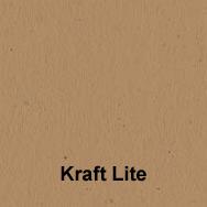 """8.5"""" x 11"""" KRAFT LITE 80# COVER Full Size Image #2"""