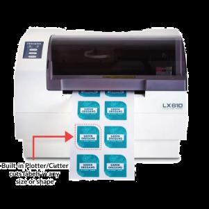 PRIMERA Color Inkjet Label Printer & Cutter LX610 Full Size Image #1