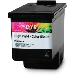 Primera LX600/LX610 Ink Cartridge, High Yield Color Dye Full Size Image #1