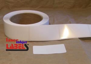 "4"" x 2.5"" OVAL INKJET ROLL LABELS Full Size Image #2"
