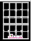 """1.625"""" x 1.8125 CLEAR GLOSS LAMINATE Thumbnail #1"""