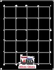 "1.8"" x 1.8"" SQUARE GLOSS WHITE LABELS Thumbnail #1"