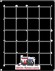 "1.8"" x 1.8"" SQUARE REMOVABLE WHITE LABELS Thumbnail #1"