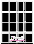 "1.875"" x 2.5"" RECTANGLE CLEAR GLOSS LAMINATE Thumbnail #1"