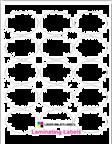 "2.5"" x 1.75""  OVAL  CLEAR GLOSS LAMINATE Thumbnail #1"