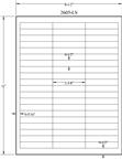 "2.625"" x 0.5"" EMERALD SAND LABELS Thumbnail #2"