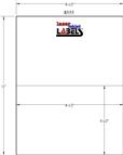 "8.5"" x 5.5"" EMERALD SAND LABELS Thumbnail #2"