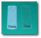 """3.5"""" x 2"""" CLEAR GLOSSY LABELS Thumbnail #2"""