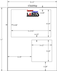 USPS COMPATIBLE WHITE CLICK-N-SHIP LABELS Thumbnail #3