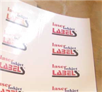 "8.5"" x  3.5"" RECTANGLE GLOSSY WHITE LABELS Thumbnail #2"
