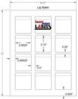 "2.0625"" x 2.15"" EMERALD SAND LABELS Thumbnail #2"