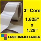 "1.625"" x 1.25"" INKJET ROLL LABELS Thumbnail #2"
