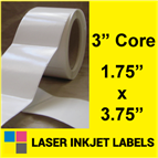 "1.75"" x 3.75"" INKJET ROLL LABELS Thumbnail #2"