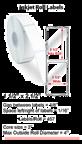 "1.5"" x 2.5"" ROLL LABELS FOR PRIMERA LX400 Thumbnail #1"