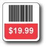 "1"" x 2.5"" PREPRINTED BARCODE OR NUMBERED Thumbnail"