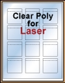 "2.0625"" x 2.15"" CLEAR LASER GLOSSY LABELS Thumbnail"