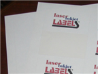 "8"" x 10"" RECTANGLE UNCOATED WHITE LABELS Thumbnail #2"