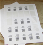 ".75"" CIRCLE UNCOATED WHITE LABELS Thumbnail #4"